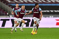 Pablo Fornals of West Ham United during West Ham United vs Aston Villa, Premier League Football at The London Stadium on 30th November 2020