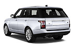 Car pictures of rear three quarter view of 2020 Land Rover Range-Rover HSE 5 Door SUV Angular Rear