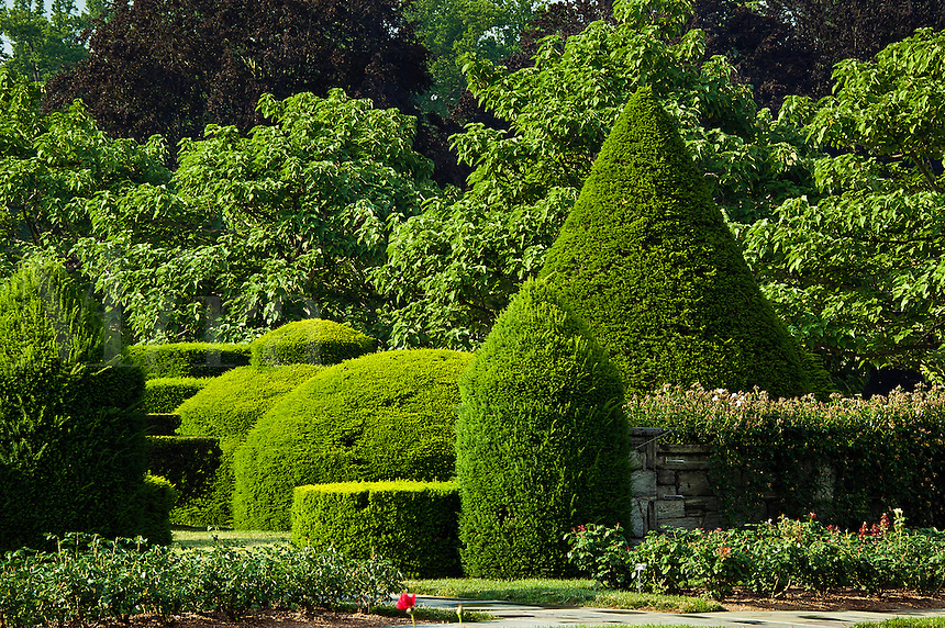 Topiary Garden, Longwood Gardens, Kennet Square, Pennsylvania