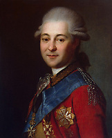 Portrait of Semyon Zorich (1745-1799), the Catherine the Great's Favourite<br /> Artist:Anonymous<br /> Museum:State Hermitage, St. Petersburg<br /> Method:Oil on canvas<br /> Created:Late 18th cent.<br /> School:Russia<br /> Category:Portrait<br /> Trend in art:Classicism