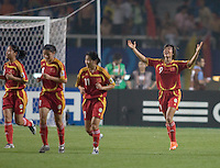 China's Duan Han (9). The FIFA Women's World Stars played an exhibition match against China at the Wuhan Sports Center Stadium as part of the Women's World Cup Draw on April 21, 2007.