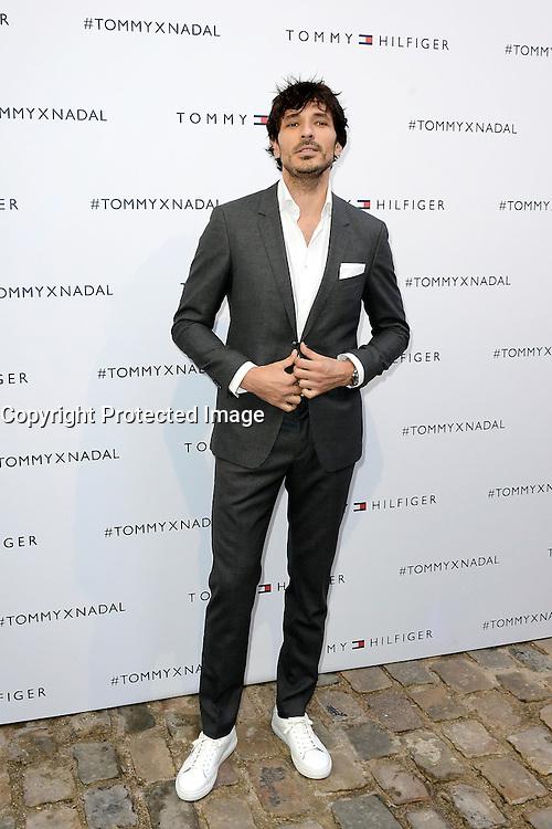 Andres VELENCOSO SEGURA - Tommy X Nadal Event - Tommy Hilfinger - Paris 18 mai 2016 - FRANCE