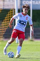 Mathias Fixelles (11) of KV Kortrijk pictured during a friendly soccer game between KSV Oudenaarde and KV Kortrijk during the preparations for the 2021-2022 season , on Friday 16th of June 2021 in Oudenaarde , Belgium . PHOTO STIJN AUDOOREN | SPORTPIX