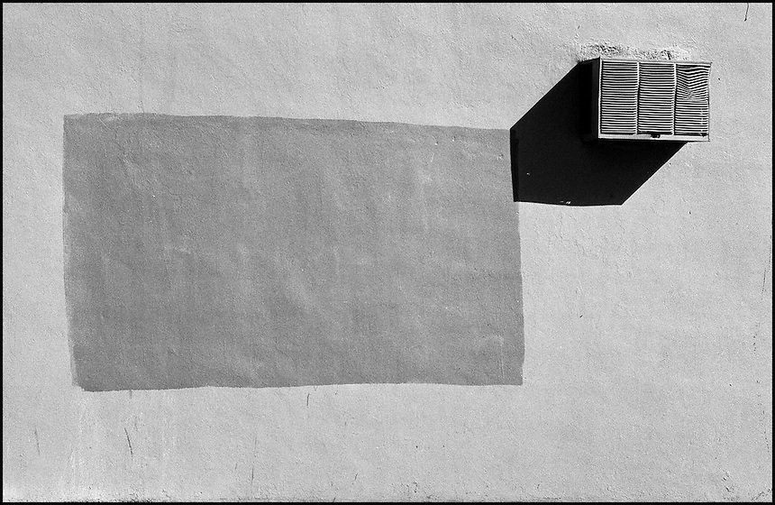 """Wall<br /> From """"Miami in Black and White"""" series<br /> Downtown Miami, FL"""
