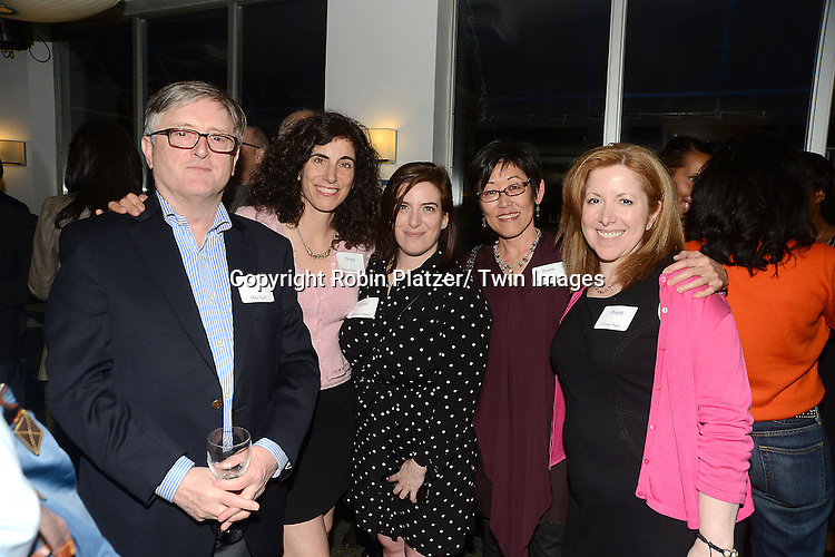 the party planners at the  People Magazine Employees Reunion on April 26, 2013 at Burger Heaven at 804  Lexington Avenue in New York City.