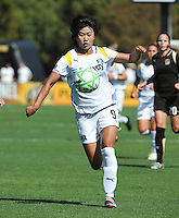 Han Duan. The Los Angeles Sol defeated FC Gold Pride, 2-0, at Buck Shaw Stadium in Santa Clara, CA on May 24, 2009.