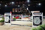 John Whitaker on Argento competes during the Airbus Trophy at the Longines Masters of Hong Kong on 20 February 2016 at the Asia World Expo in Hong Kong, China. Photo by Li Man Yuen / Power Sport Images