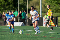 Allston, MA - Friday June 10, 2016:  during a regular season National Women's Soccer League (NWSL) match between the Boston Breakers and the Washington Spirit at Jordan Field.
