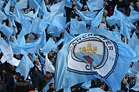 Manchester City fans before the Carabao Cup Final match between Chelsea and Manchester City at Stamford Bridge on February 24th 2019 in London, England. (Photo by Paul Chesterton/phcimages.com)<br /> Foto PHC Images / Insidefoto <br /> ITALY ONLY