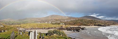 Panorama of Derrynane Beach by overall winner Michael Brazendale