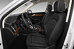 Front seat view of 2021 Audi Q5 Premium 5 Door SUV Front Seat  car photos