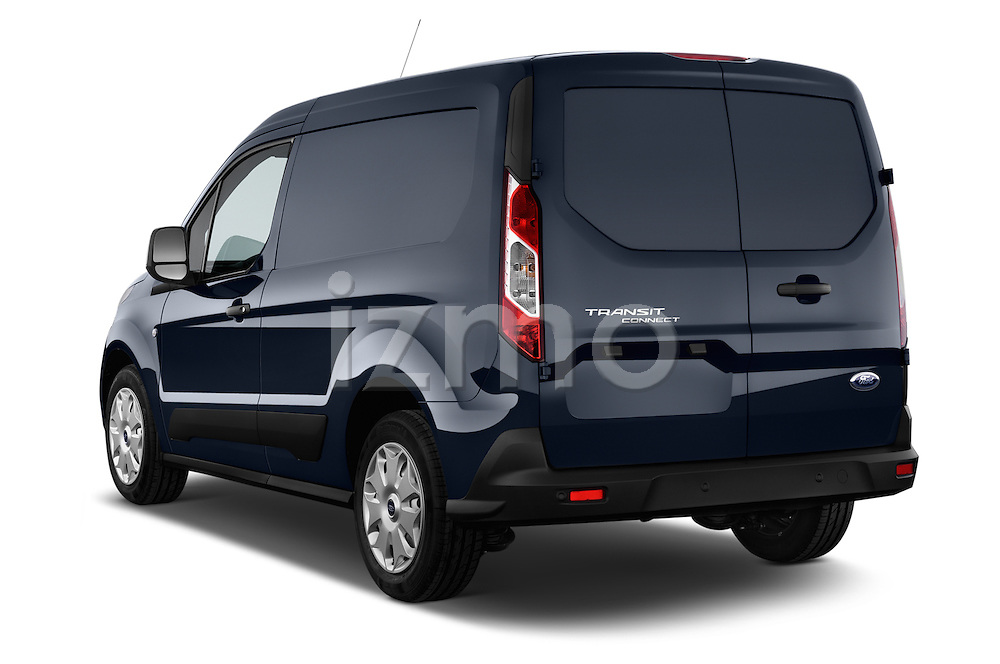 Rear three quarter view of a 2014 Ford Transit Connect Trend 5 Door Minivan 2WD