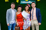 Enjoying the Ladies Day at the Listowel Races on Friday, l to r: Tommy O'Neill, Sophie Sugrue, Clodagh Hannon and Danny Power all from Listowel.