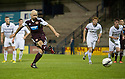 Hearts' Jamie Hamill scores from the spot to make it 1-1 and take it into extra time and penalties.