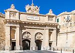 The Victoria Gate in Ta'Liesse,  Valletta, Malta