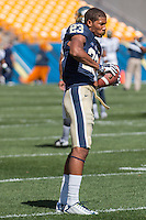 Pitt wide receiver Tyler Boyd. The Akron Zips Defeated the Pitt Panthers 21-10 at Heinz Field, Pittsburgh. Pennsylvania on September 27, 2014.