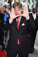 """director, Whit Stillman<br /> arrives for the """"Love and Friendship"""" premiere at the Curzon Mayfair, London.<br /> <br /> <br /> ©Ash Knotek  D3123  24/05/2016"""
