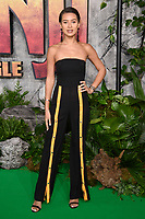 "Montana Brown<br /> arriving for the ""Jumanji: Welcome to the Jungle"" premiere at the Vue West End, Leicester Square, London<br /> <br /> <br /> ©Ash Knotek  D3358  07/12/2017"