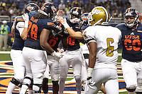 SAN ANTONIO, TX - SEPTEMBER 3, 2016: The University of Texas at San Antonio Roadrunners defeat the Alabama State University Hornets 26-13 at the Alamodome. (Photo by Jeff Huehn)