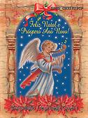 Alfredo, CHRISTMAS CHILDREN, WEIHNACHTEN KINDER, NAVIDAD NIÑOS, paintings+++++,BRTOCH31719CP,#xk# ,angel,angels