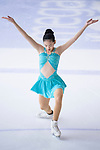 Charmaine Skye Chua of Philippines competes in Advanced Novice Girls group during the Asian Open Figure Skating Trophy 2017 on August 03, 2017 in Hong Kong, China. Photo by Marcio Rodrigo Machado / Power Sport Images