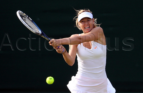 26.06.2013. Wimbledon,  London, England.  Day three of the The Wimbledon Tennis Championships 2013 held at The All England Lawn Tennis and Croquet Club, London, England, UK.<br />