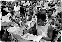 Sara primary school, Guinea-Bissau - 1974