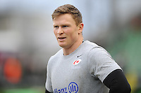 Chris Ashton of Saracens warms up before the Premiership Rugby match between Harlequins and Saracens - 09/01/2016 - Twickenham Stoop, London<br /> Mandatory Credit: Rob Munro/Stewart Communications