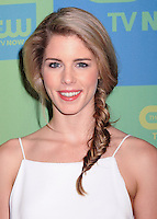 NEW YORK CITY, NY, USA - MAY 15: Emily Bett Rickards at The CW Network's 2014 Upfront held at The London Hotel on May 15, 2014 in New York City, New York, United States. (Photo by Celebrity Monitor)