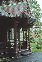 Hartford: Day House--detail. Photo '91.