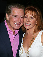 Regis Philbin dies at 88 - 22 August 2008 - Los Angeles, California - Regis Philbin and wife Joy Philbin. Screen Actors Guild and the Deane F. Johnson Alzheimer's Research Foundation host Fundraiser held at Catalina Jazz Club. Photo Credit: Faye Sadou/AdMediaRegis Philbin dies at 88