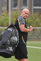 goalkeeper coach Jurgen Belpaire of Club Brugge  pictured during a female soccer game between Club Brugge Dames YLA and RSC Anderlecht on the third matchday of the 2021 - 2022 season of Belgian Scooore Womens Super League , saturday 4 september 2021in Aalter , Belgium . PHOTO SPORTPIX   DIRK VUYLSTEKE