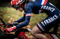 Juliette Labous (FRA)<br /> Elite Women Individual Time Trial<br /> <br /> 2019 Road World Championships Yorkshire (GBR)<br /> <br /> ©kramon