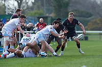 Francisco Vieira of Rotherham Titans during the Greene King IPA Championship match between London Scottish Football Club and Rotherham Titans at Richmond Athletic Ground, Richmond, United Kingdom on 7 April 2018. Photo by Alan  Stanford/PRiME Media Images.