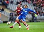 26.02.2020 SC Braga v Rangers: Florian Kamberi and Raul Silva