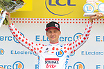 Tim Wellens (BEL) Lotto-Soudal retains the Yellow Jersey at the end of Stage 10 of the 2019 Tour de France running 217.5km from Saint-Flour to Albi, France. 15th July 2019.<br /> Picture: Colin Flockton | Cyclefile<br /> All photos usage must carry mandatory copyright credit (© Cyclefile | Colin Flockton)