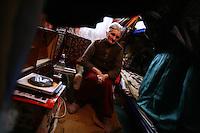 "SERBIA, Belgrade, Jan. 18, 2007..Julka Jaunkovic (73) refugee from Kosovo, Pec, sits in her room in a refugee camp ""Krnjaca"" near Belgrade..© Djordje Jovanovic /EST&OST"