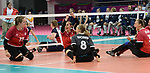 Heidi Peters, Jolan Wong, and Sarah Melenka, Lima 2019 - Sitting Volleyball // Volleyball assis.<br />