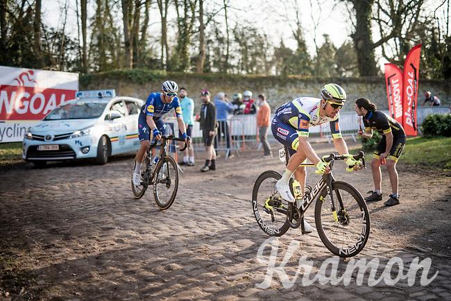 Boy van Poppel (NED/Intermarché - Wanty - Gobert)<br /> <br /> 53rd Le Samyn 2021<br /> ME (1.1)<br /> 1 day race from Quaregnon to Dour (BEL/205km)<br /> <br /> ©kramon