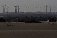CENTRAL GERADORA EOLICA ZUMBI LTDA<br /> Maxaranguape, Rio Grande do Norte, Brasil.<br /> Foto Paulo Santos<br /> 25/05/2013