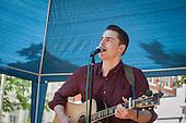 Eden & Billy duo, Sounds & BItes Festival 2014, Norfolk Square, Paddington.