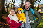 Enjoying a stroll in the Killarney National Park on Saturday, l to r: Serea, Ezra and Lee Truter