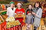 Enjoying the Sundried tomatoes and cheese in Garveys Supervalu Castleisland's Food Fair on Tuesday. L to r:  Sharon Slattery, Mags Kenny, Martina, Ciara and Maeve Hurley,
