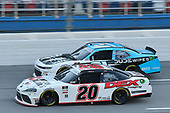 #20: Harrison Burton, Joe Gibbs Racing, Toyota Supra Morton Buildings/DEX Imaging, #21: Anthony Alfredo, Richard Childress Racing, Chevrolet Camaro DUDE Wipes