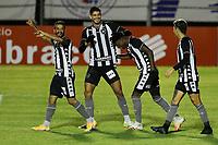 26th August 2020; Estadio Vila Capanema, Curitiba, Brazil; Copa Do Brasil, Parana Clube versus Botafogo; Kanu of Botafogo celebrates his goal in the 49th minute for 0-1