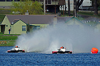 """Andrew Tate, A-25 """"Fat Chance"""" and Tom Thompson, A-52 """"Fat Chance Too"""" (2.5 MOD class hydroplane(s)"""