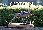 10 April 10: More than 61,000 fans enjoyed a beautiful afternoon on Arkansas Derby Day at Oaklawn Park in Hot Springs, Arkansas.