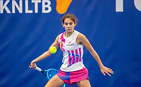 Amstelveen, Netherlands, 14  December, 2020, National Tennis Center, NTC, NK Indoor, National  Indoor Tennis Championships, Qualifying: Dilara Okur (NED) <br /> Photo: Henk Koster/tennisimages.com