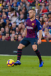 Arthur Henrique Ramos de Oliveira Melo of FC Barcelona in action during the La Liga 2018-19 match between FC Barcelona and Real Betis at Camp Nou, on November 11 2018 in Barcelona, Spain. Photo by Vicens Gimenez / Power Sport Images