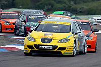 Round 2 of the 2007 British Touring Car Championship. #11 Jason Plato (GBR). SEAT Sport UK. SEAT Leon.